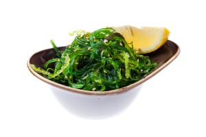 Seaweed salad Goma Wakame with nut sauce